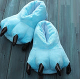 Monster Claw Indoor Slippers Sky Blue