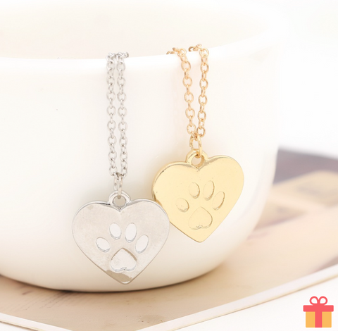 Paw Love Necklace
