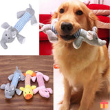 Pet Chewy Squeaky Plush Toy Dog