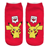 Pikachu Socks PokeHearts