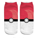 Pikachu Socks Pokeball