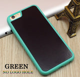 Stick on Anti gravity iPhone Case Full Green