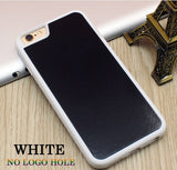 Stick on Anti gravity iPhone Case Full White