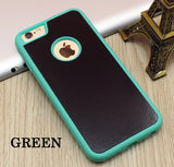 Stick on Anti gravity iPhone Case Green