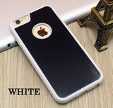 Stick on Anti gravity iPhone Case White