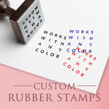 Rubber Stamp - Custom Logo