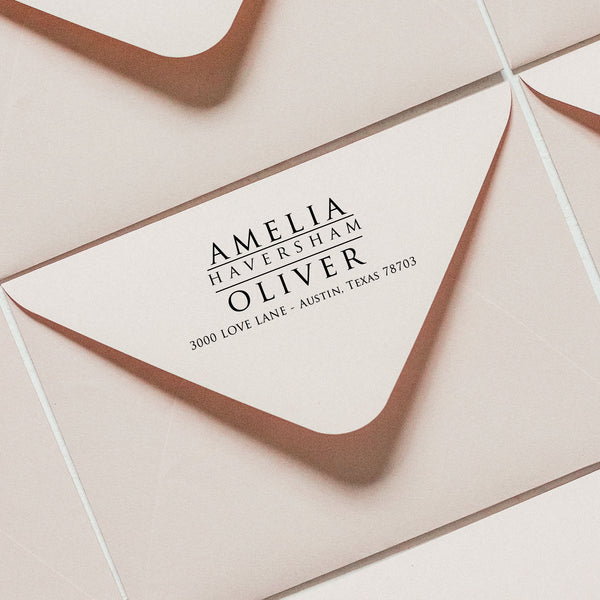Rubber Stamp - AMELIA