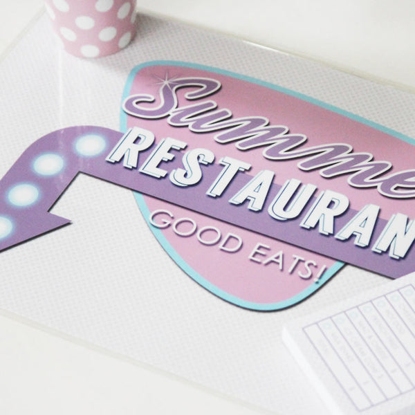 Placemat - Diner