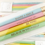 Positivity Pencils - Set of 4