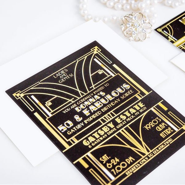 Gatsby Invitations