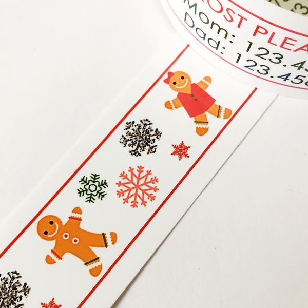 Holiday ID Bands - Gingerbread Cookies