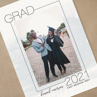Graduation Announcements - WATERCOLOR