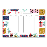 Weekly Planner Pad - Gifts
