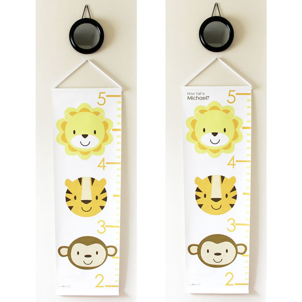 Growth Chart :: Zoo Animals