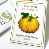 Baby Shower Seed-Favors™ - OUR LITTLE PUMPKIN SEED PACKET FAVORS