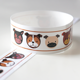 Custom Vinyl ID Bands - Set of 12 Puppy Bracelets