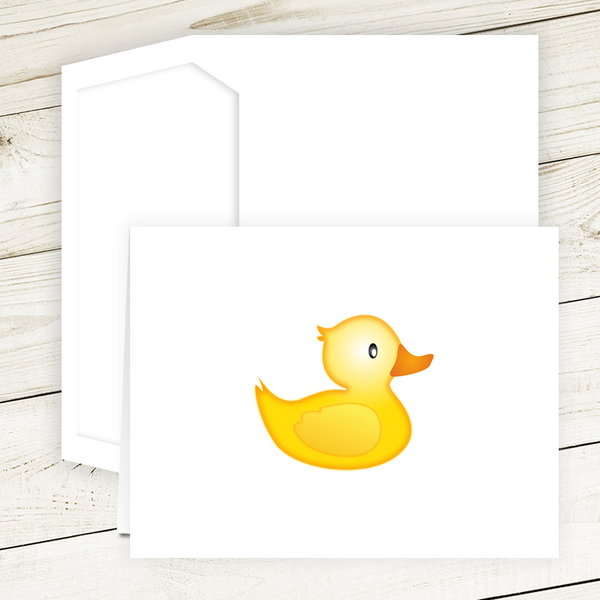 Rubber Ducky Folded Notes