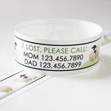Custom Vinyl ID Bands - Set of 12 Sheep Bracelets