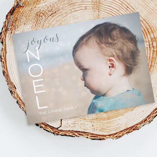Holiday Photo Cards - Joyous Noel