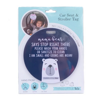 CAR SEAT / STROLLER TAG - MAMA BEAR