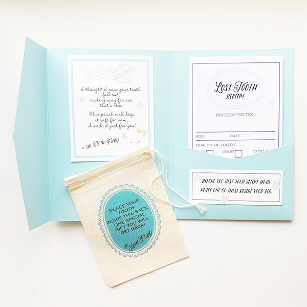 Personalized Tooth Fairy Kit