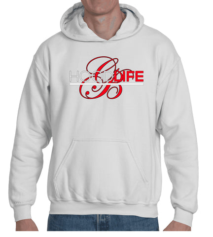 HoodLife Red/White/Black