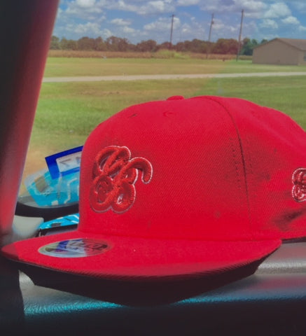 GB logo Red n White Snapback