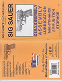 SIG Sauer Do Everything Gun Manual Book Guide