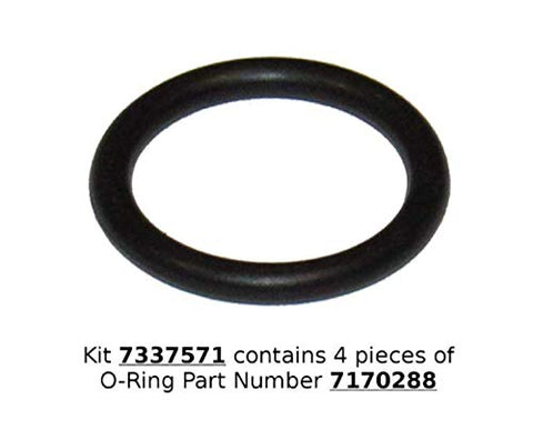 Water Softener O-Ring Seal Kit, 4-pack (Part: 7337571, 7170288, STD302213, WS03X10025)