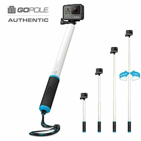 GoPole Reach Extension Pole for GoPro Cameras, Compact Portable Lightweight NEW