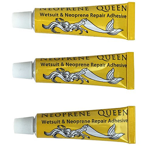 Stormsure Neoprene Queen Wetsuit Repair Glue (3 of 5g Glue Tubes)