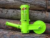"The Mingo Marker: Ultimate Firewood Measurer and Marker w / 16"" Wheel"