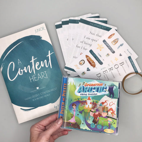contentment Bible study bundle