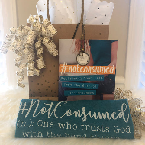 Not Consumed devotional gift bundle