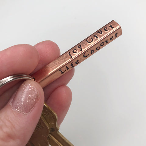 #NotConsumed Inspirational Key Chain for Women