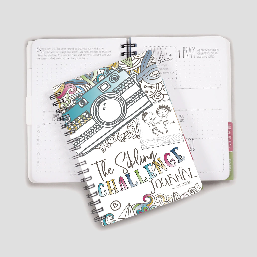 Sibling journal for kids and teens