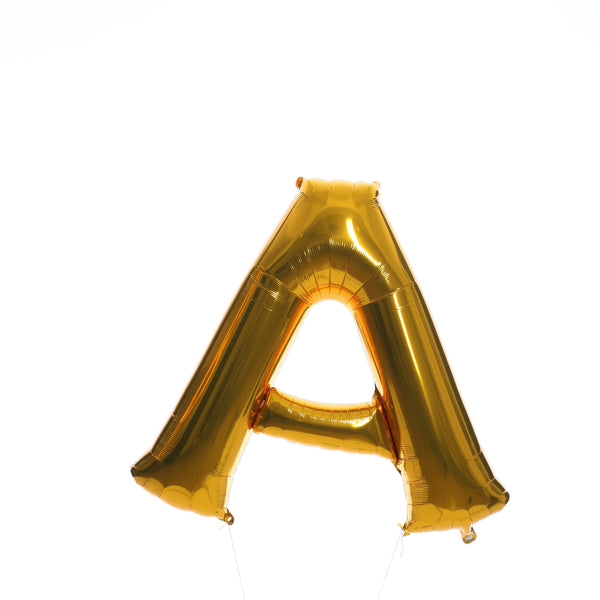 All Gold Letters - BALLOON STAND