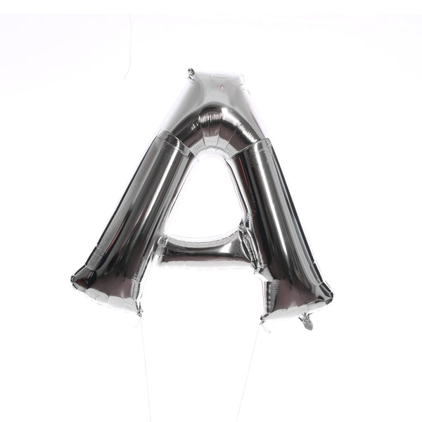 All Silver Letters - BALLOON STAND