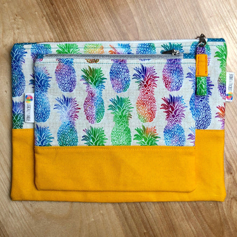 Rainbow Pineapples Clutch Set - Logically Unique