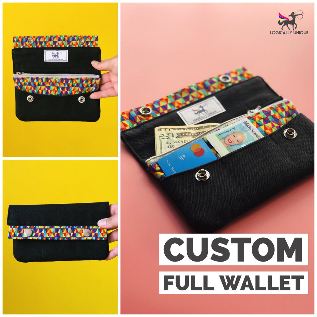 Custom Wallet/Clutch