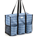 Pursetti Utility Tote Bag with Multiple Pockets