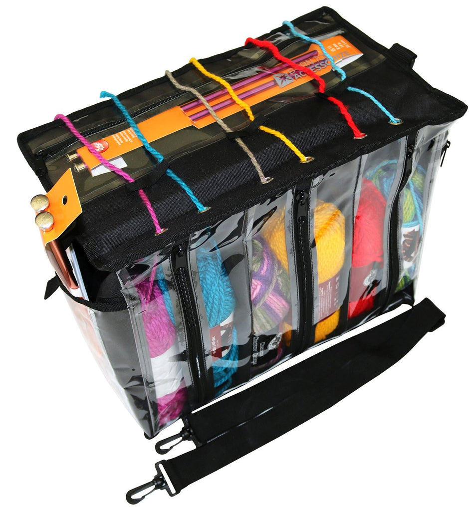 BTA Premium Knitting Bag to Store Your Yarns Neatly for Travel and Easy Access