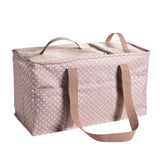 tan large cooler utility tote