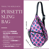 Pursetti Sling Backpack for Women