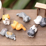 6 Pieces Fairy Garden Home Decor Kittens