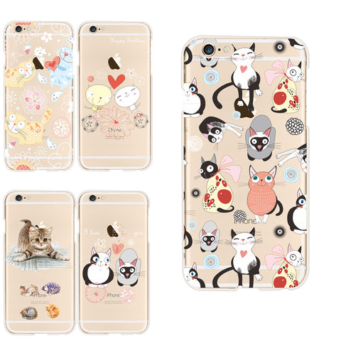 NEW CAT CASES FOR IPHONES  5 / 6 / 7