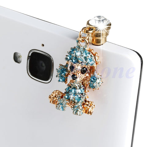 3 SMARTPHONE POODLE ANTI-DUST PLUGS