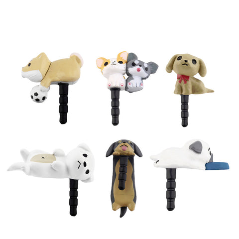 SMARTPHONE DOG ANTI-DUST PLUG FREE
