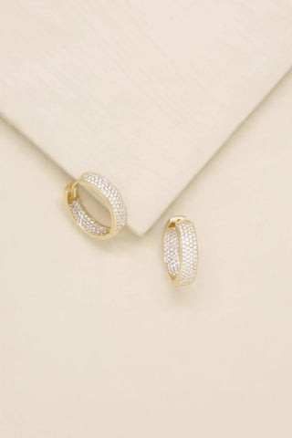 Mini Sparkle Hoops