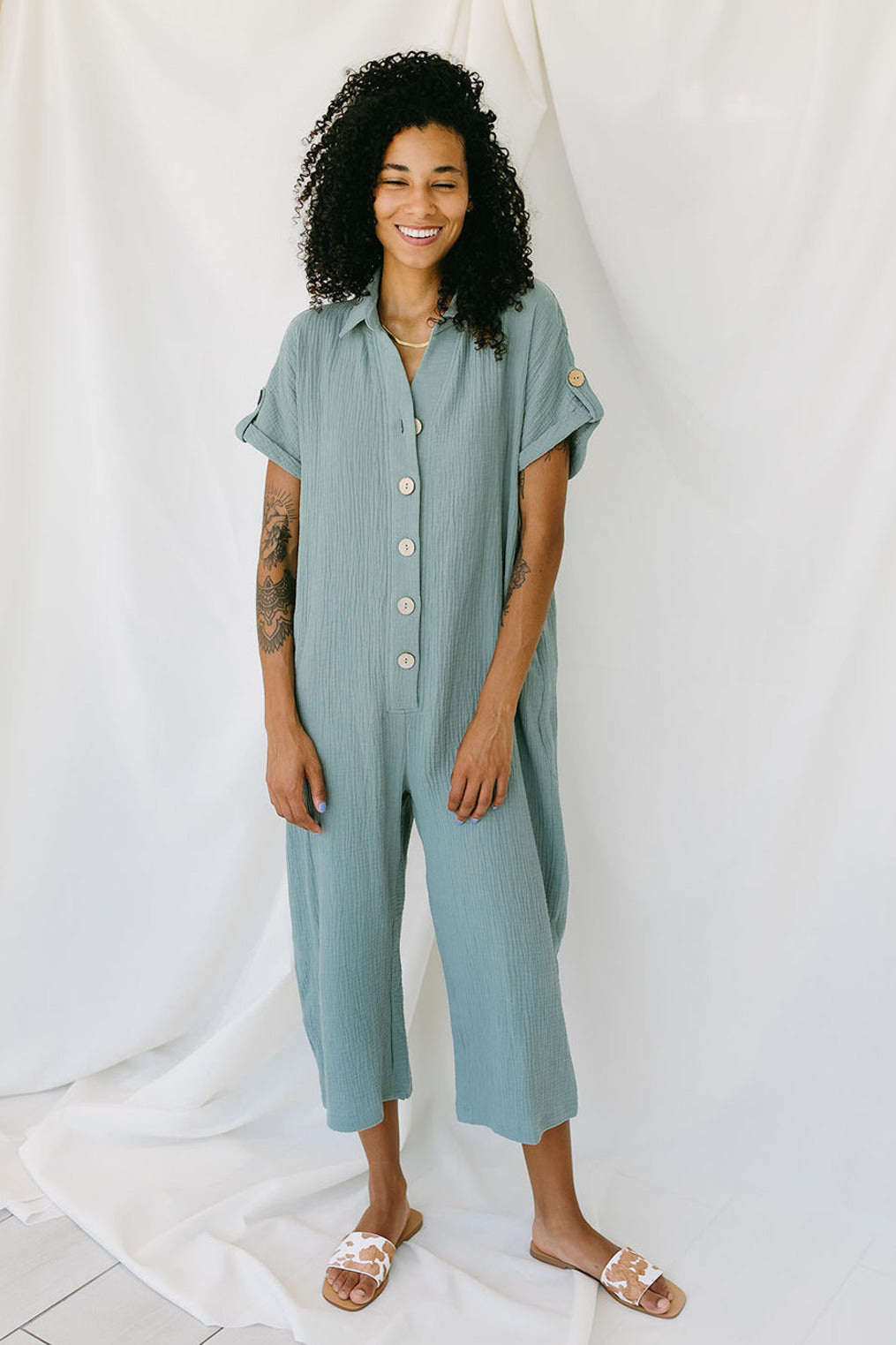 Seagreen Jumpsuit